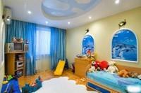 Отделка детской комнаты в Мысках