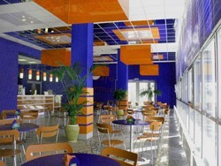 отделка кафе, ресторанов в Мысках